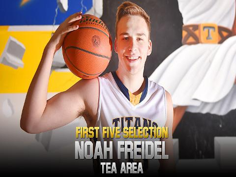 2018 First Five selection Noah Freidel overcame an in-season knee injury to lead the Titans to a runner-up finish in Class A.