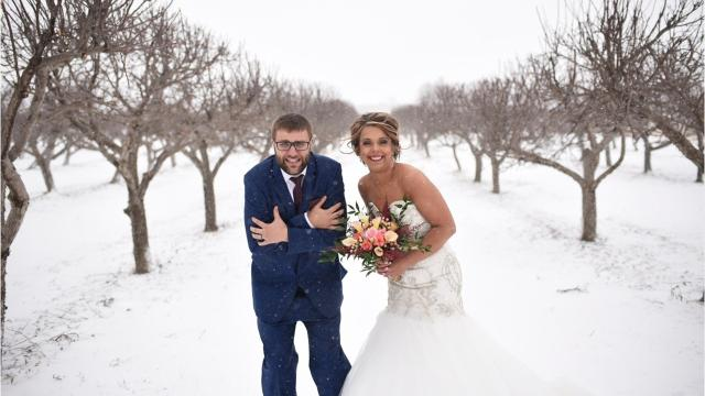 Image result for snow and couple