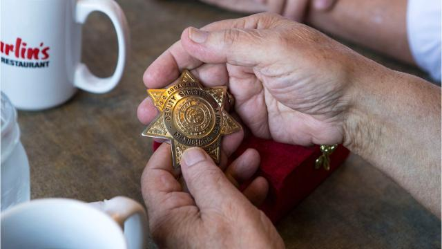 A former Minnehaha County Sheriff's deputy got quite the surprise this week when a man who stole his badge 53 years ago returned it.