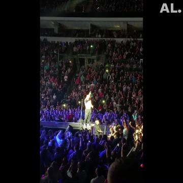 Dan Reynolds, lead vocalist for the pop rock band Imagine Dragons, talked about his battle with depression Tuesday night during a sold out concert at the Denny Sanford Premier Center in Sioux Falls.