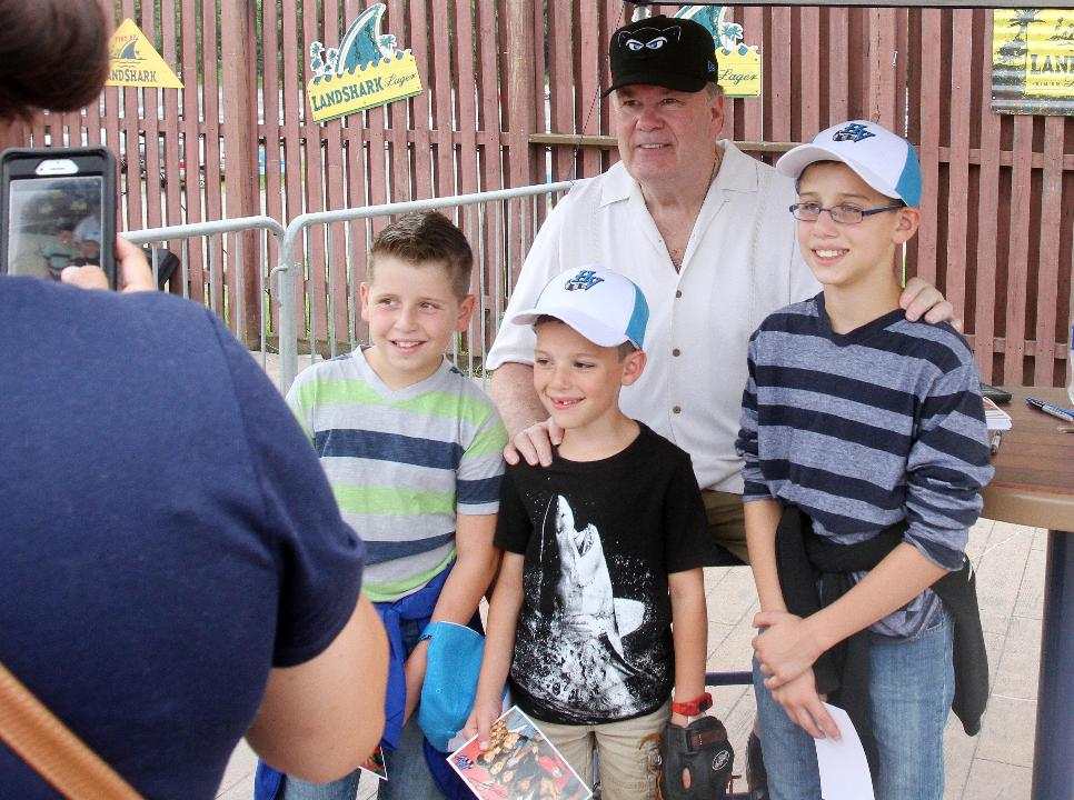 Video: Mr. Belding at Renegades game.