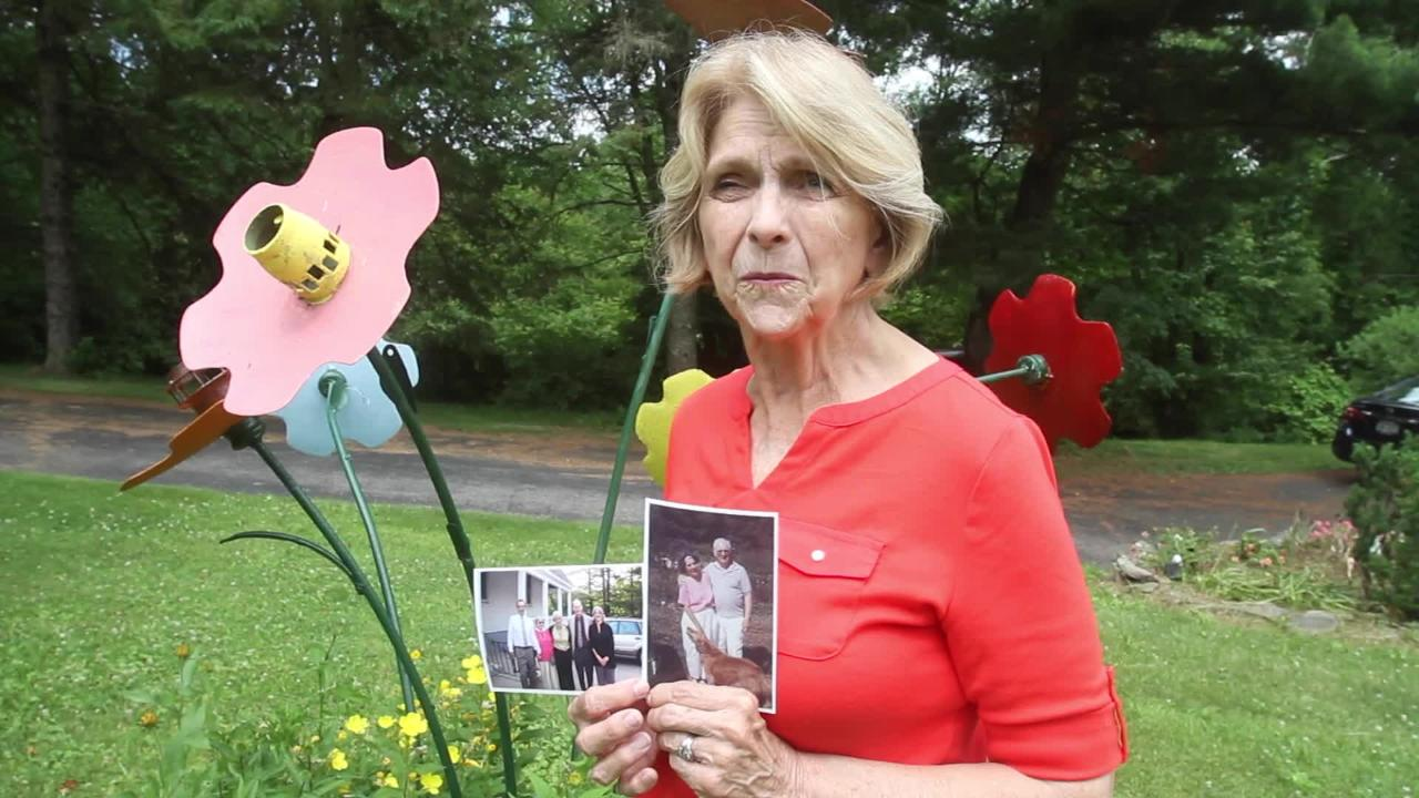 Red Hook resident Wendy Livingston talks about her family's participation in the Framingham Heart Study June 27, 2017. Frank Becerra Jr./Poughkeepsie Journal