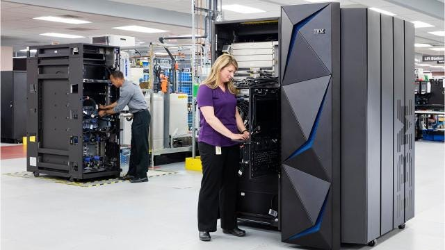 IBM is says its new Z mainframe, manufactured in Poughkeepsie, is a breakthrough in data protection technology designed to tackle the epidemic of data breaches.