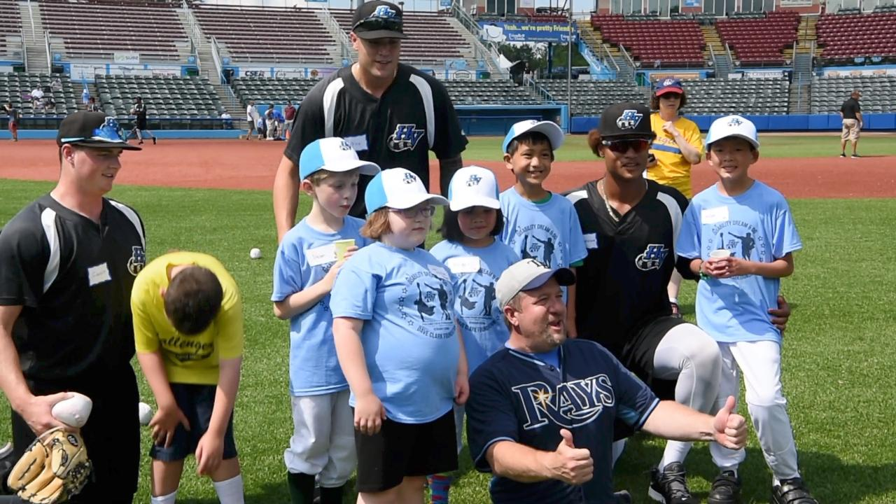"Video: ""Disability, Dream & Do"" camp lets kids play with Renegades"