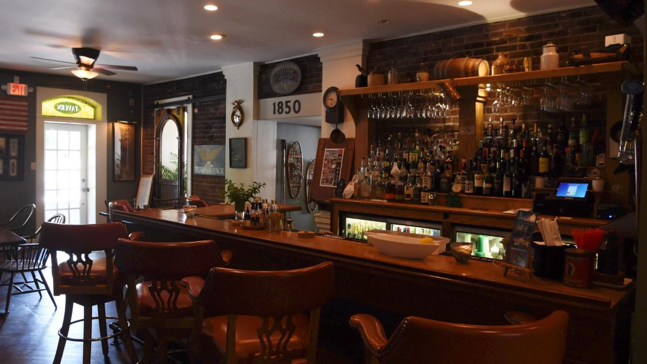 Owner Mike Ruger talks about what makes the 1850 House Inn & Tavern unique.