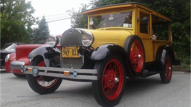 Elks Lodge annual car show: Video