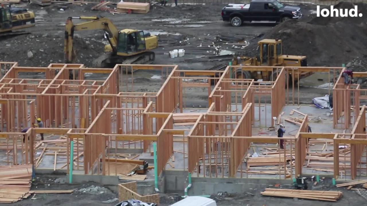 Video: Construction has begun at A.C. Dutton Co. lumberyard site