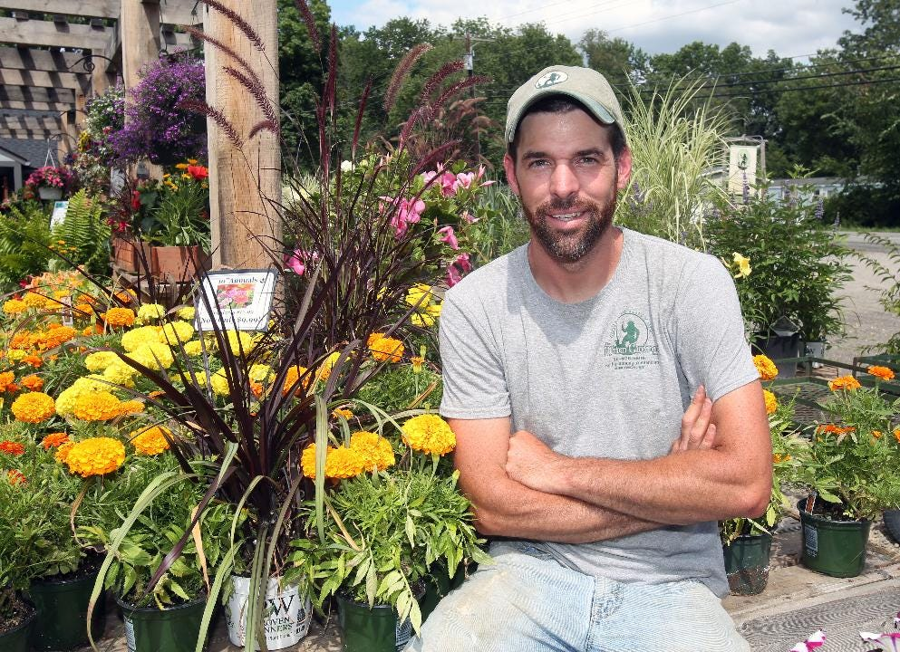 "Anthony ""Tony"" Copalbo is co-owner of Phantom Gardener in Rhinebeck and is a longtime member of the landscaping committee for the Dutchess County Fair. Frank Becerra Jr./Poughkeepsie Journal"