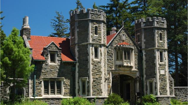 Built in 1916 for Louis Gordon Hammersley and designed by architect Francis Hoppin, Ward Manor sits on the northern portion of Bard College in Annandale. Barbara Gallo Farrell/Poughkeepsie Journal