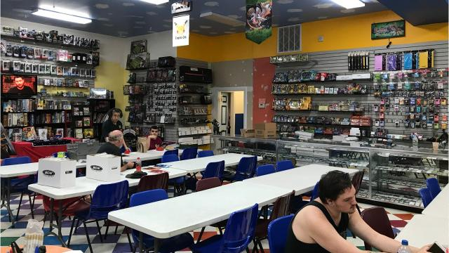The comic shop received its certificate of occupancy Wednesday, allowing Dragon's Den to reopen. Video by Geoffrey Wilson.