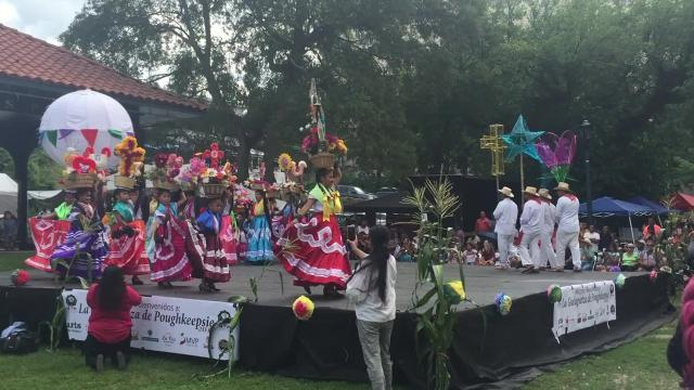 The ninth annual La Guelaguetza de Poughkeepsie was held Sunday at Waryas Park in the City of Poughkeepsie. Abbott Brant/Poughkeepsie Journal