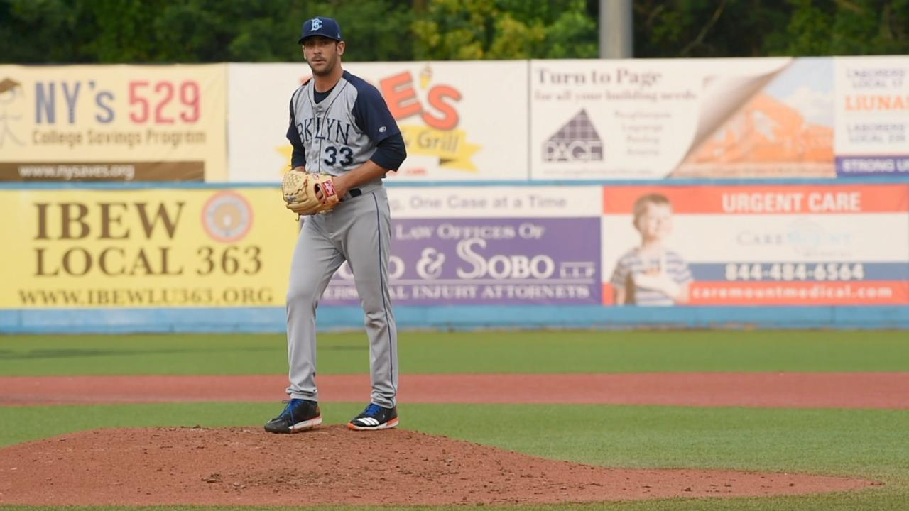 Video: Mets' Matt Harvey pitches at Dutchess Stadium