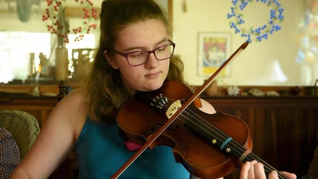Gary and Pam Veeder co-produce the New York Fiddle Contest at the Dutchess County Fair every year. Initially created with their granddaughter in mind, the contest attracts fiddlers of all ages and from five states.