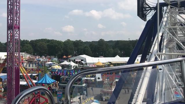 Video: The view from the Powers Pantheon Ferris Wheel