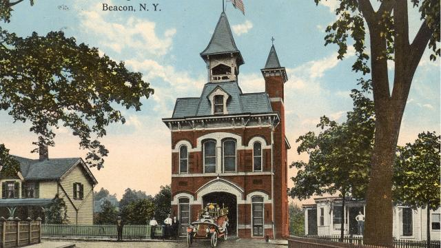 Beacon Engine Company No. 1, at 57 East Main St., is the oldest firehouse in the municipality, built in 1889. Barbara Gallo Farrell/Poughkeepsie Journal