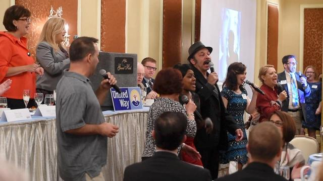 Video: County Players give surprise performance at United Way breakfast