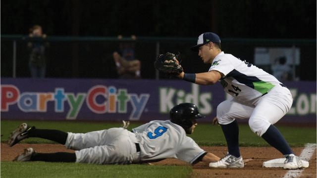 The Hudson Valley Renegades defeated the Vermont Lake Monsters by sweeping the best-of-three New York-Penn League championship series.