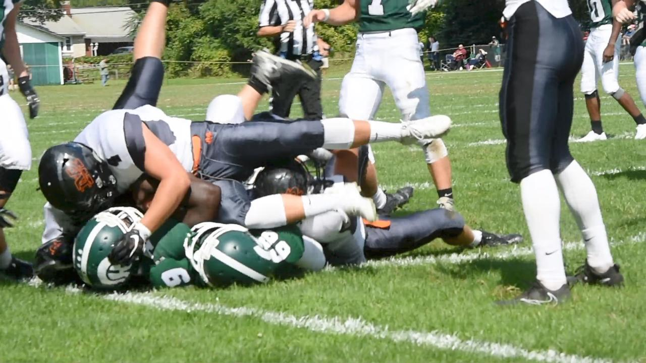 Video: Highlights from the Spackenkill v. Marlboro football game