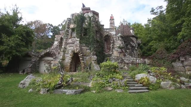 Wing's Castle in Millbrook is an amazing work of architecture and may be hiding a few skeletons.