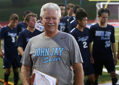 Video:  Steve Caswell helping out John Jay soccer