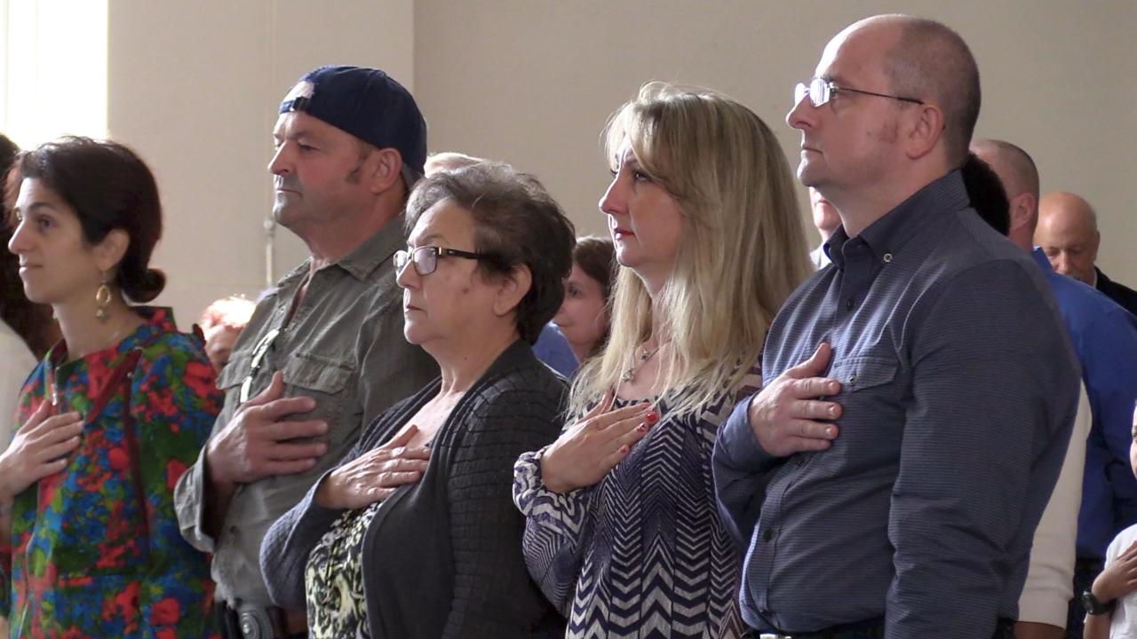 Over 100 new citizens from 50 countries were naturalized at the Family Partnership Center in the City of Poughkeepsie.