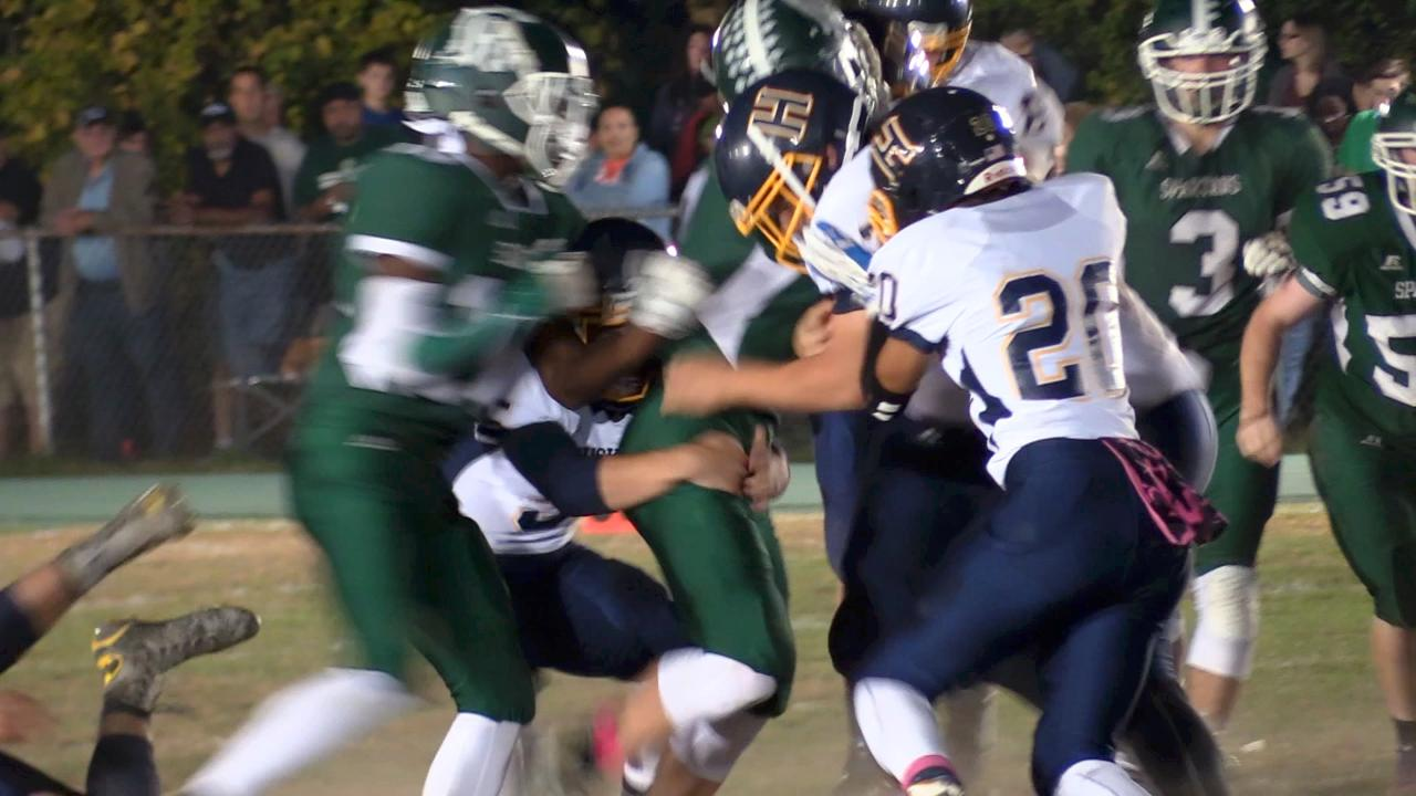 Video: Highlights from the Spackenkill v. Highland football game