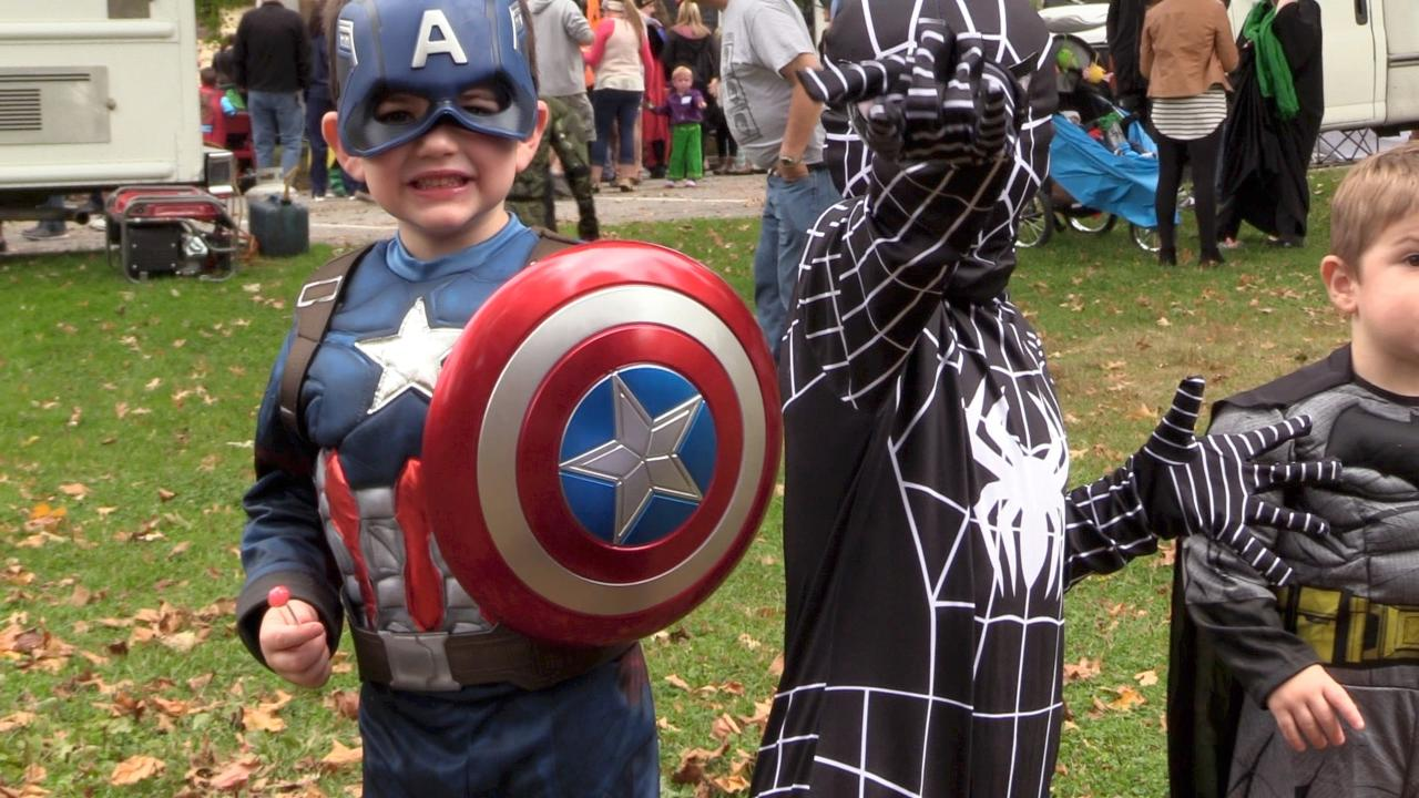 Kids and adults, clad in an assortment of colorful costumes, celebrated all things Halloween.