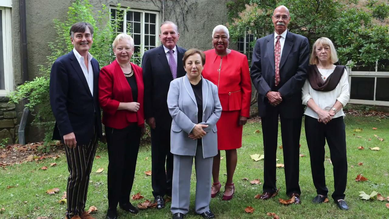 Seven people were recognized at the 31st annual Eleanor Roosevelt Val-Kill Medal Ceremony for continuing the former first lady's legacy, Oct. 15, 2017 at the Eleanor Roosevelt National Historic Site in Hyde Park.