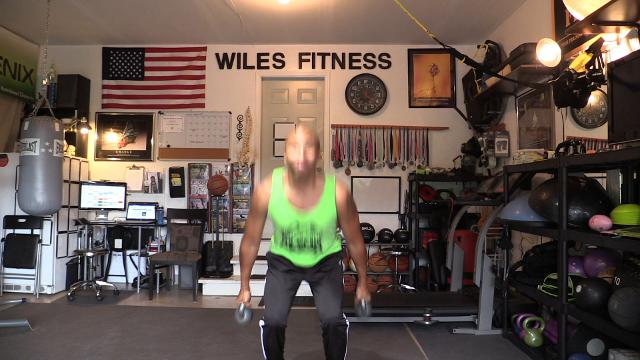 Joe Wiles runs fitness boot camp training from his Marlboro home.