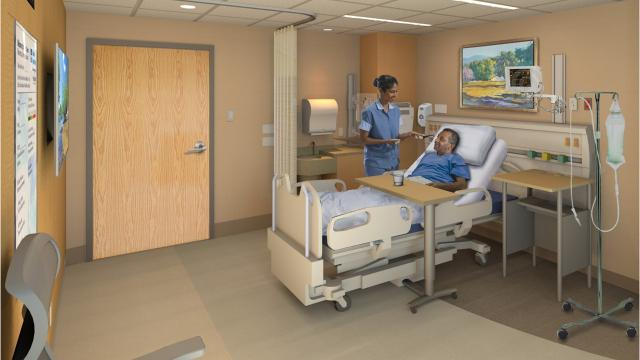 MidHudson Regional Hospital's inpatient care floors are getting some upgrades in an effort to provide patients with improved technology and private rooms. The $8 million project focuses on the six-story Cooke Building.