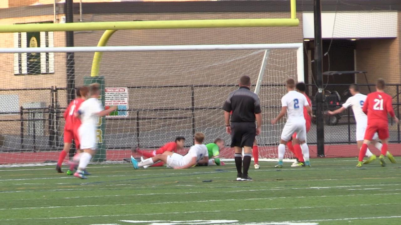 A few short clips from the Section 9 Class A boys soccer final between Red Hook and Goshen.