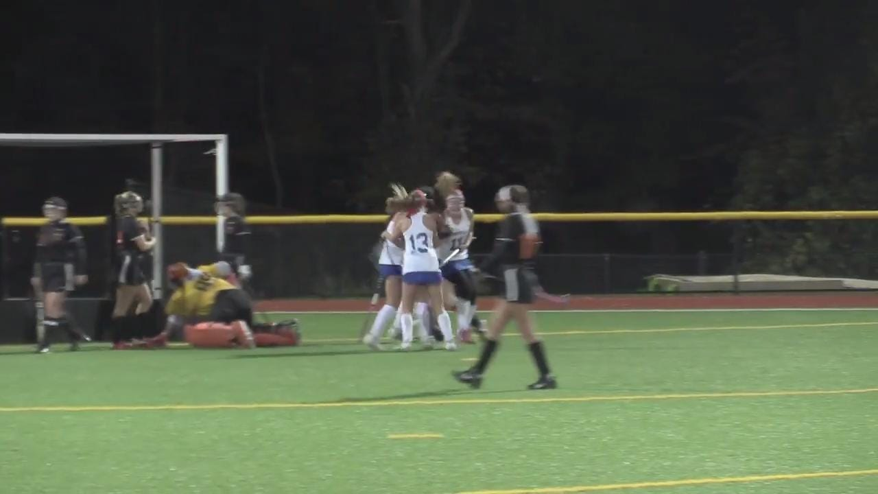 Bronxville defeated Pawling 2-1 to win the Section 1 Class C field hockey championship at Pleasantville High School Wednesday.