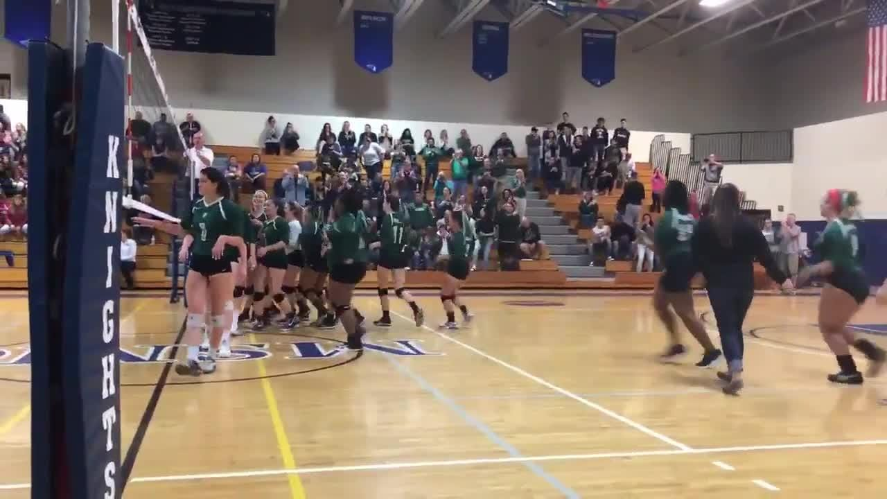 The Spackenkill High School volleyball team won the Section 9 Class B title on Sunday.