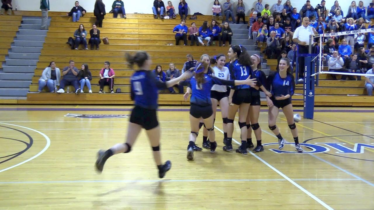 A few short clips from the Millbrook v. Burke Class C volleyball final at Mount Saint Mary College.