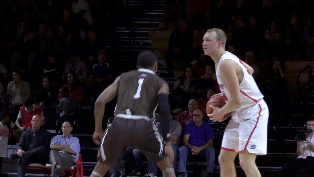 A few short clips from the Marist men's basketball home opener against Lehigh.