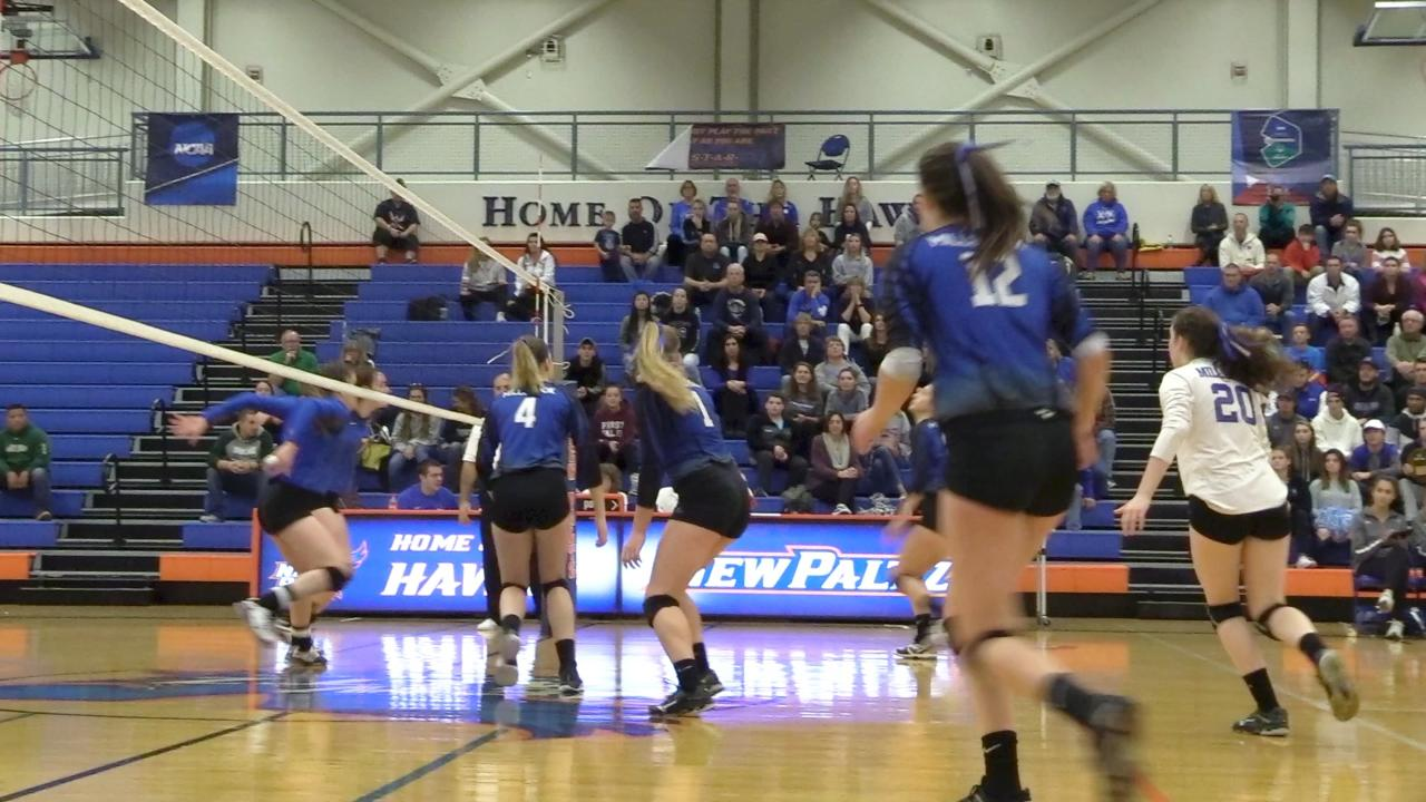 A few short clips from the Class C volleyball regional final between Millbrook and Tioga.
