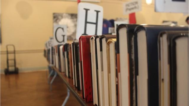 With more than 10,000 books to choose from, local book-lovers flocked to the Locust Grove Estate in the Town of Poughkeepsie for the annual Holiday Book Sale benefiting The Friends of the Poughkeepsie Public Library District. It continues Sunday. Video by Jack Howland/Poughkeepsie Journal