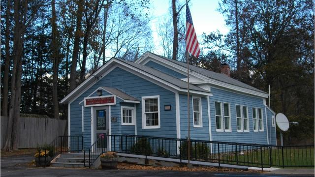 The Clinton Corners Schoolhouse was built in 1848. It was originally one of 11 one-room, multiple-grade schoolhouses in the town. Barbara Gallo Farrell/Poughkeepsie Journal