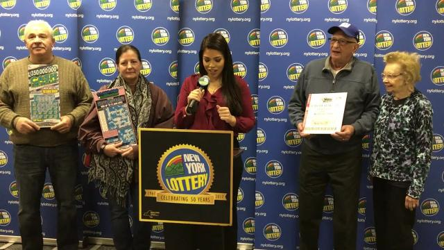 Video: New York lottery winners tell their stories