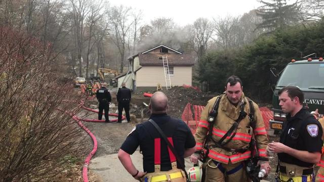 A two-alarm fire in the Town of Hyde Park resulted in no injuries, according to Fairview Fire District Chief Chris Maeder.