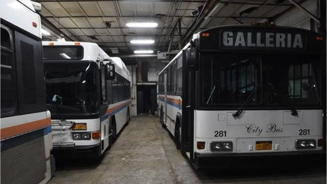 On Monday night, the City of Poughkeepsie Common Council voted 5-3 to lease the city buses to the county for $1 a year, so long as they are being used for transportation in the city. Abbott Brant/Poughkeepsie Journal