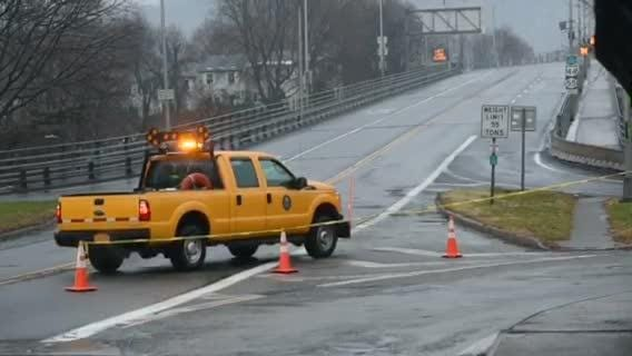 The Mid-Hudson Bridge was closed Tuesday morning following a fatal accident.