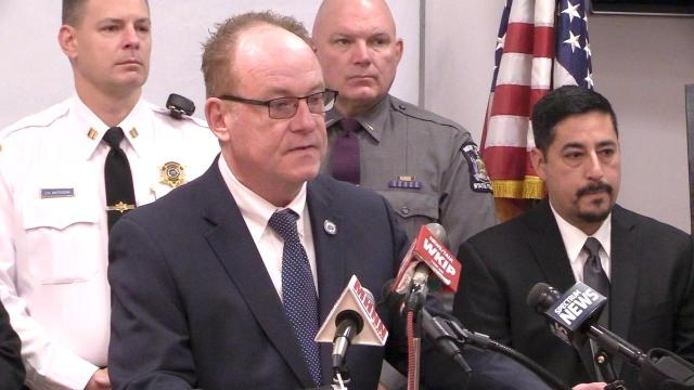 Video: Abridged press conference of Poughkeepsie drug bust