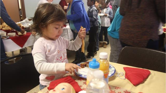 Area foster families and youth in the foster care system gathered at the New Hamburg Fire Station in Wappingers Falls for the second annual Breakfast with Santa on Sunday morning. Video by Jack Howland/Poughkeepsie Journal