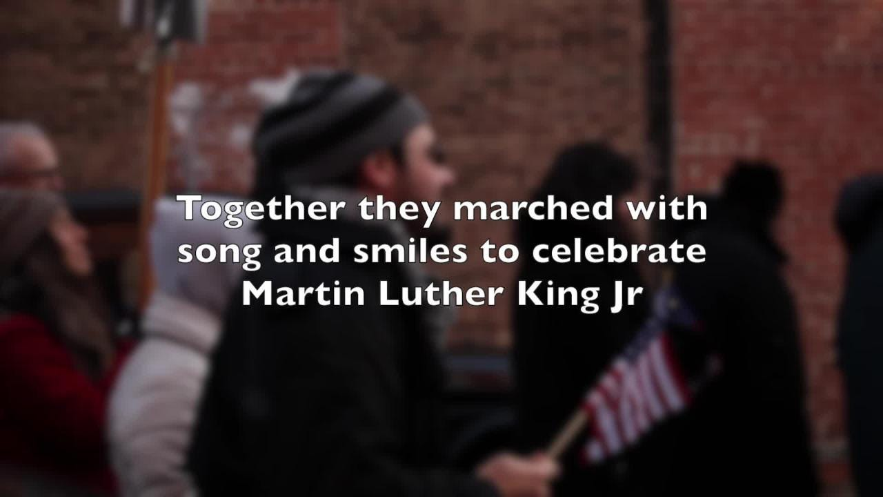Video: Martin Luther King parade in Beacon