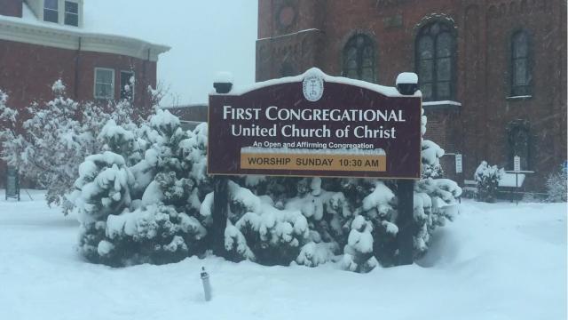 VIDEO: More snow Wednesday