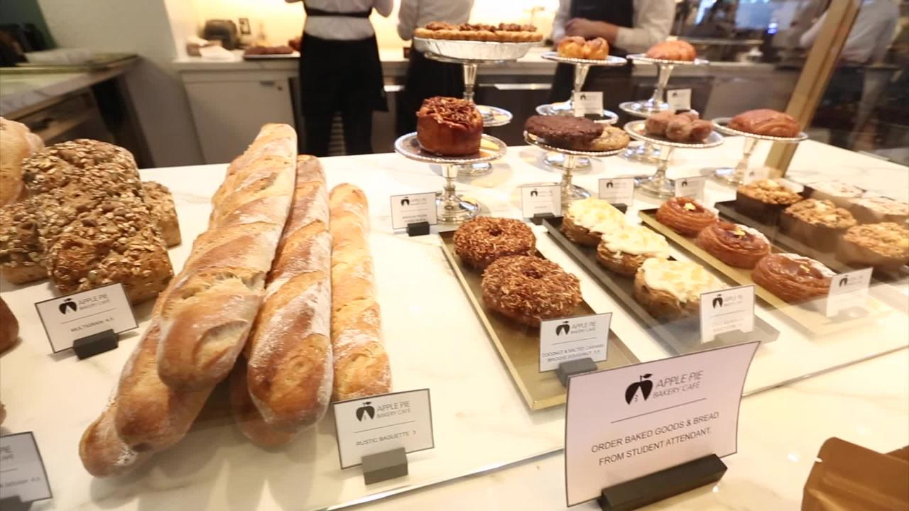 Video: The Apple Pie Bakery Cafe at the Culinary Institute of America