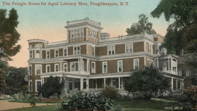 """The Pringle Home at 153 Academy St., Poughkeepsie, was set up to provide housing for retired """"educated and literary men"""" from 1899-1957. Video by Barbara Gallo Farrell/Poughkeepsie Journal"""
