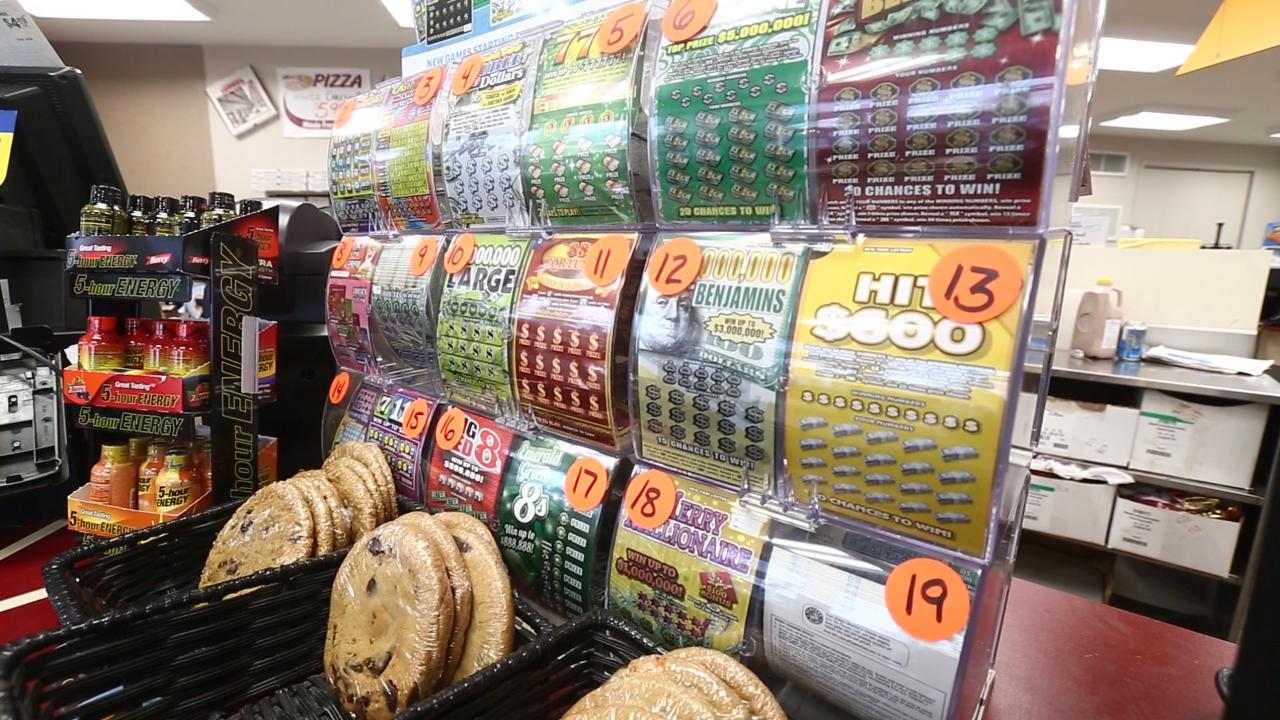 Video: Searching for lotto luck at stores with most winners