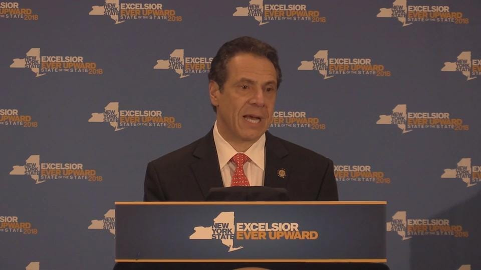 During a wide ranging speech at Marist College in Poughkeepsie Thursday, and then in remarks to reporters after his speech, New York State Governor Andrew Cuomo spoke about the need for federal gun legislature as well as universal background checks.